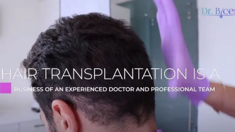 Look at the results of a hair transplant after one year