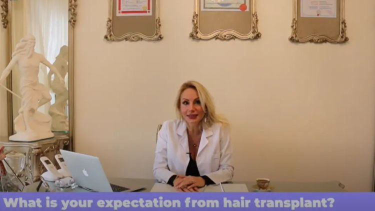 Expectation from hair transplant